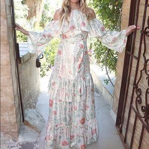 Rachel Zoe floral Print Dress